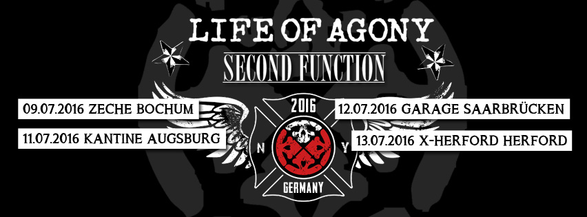 Second Function & Life Of Agony
